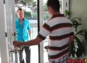 Hot married straight stud getting