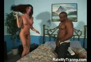 Tranny Nakita Gets Fucked by Black Man