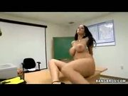Carmella Bing, Big Titted Teacher gets her ass nailed