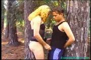 Tranny pervert does blowjob