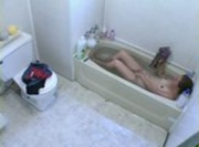 Fast Bath - Teen Being Spied On