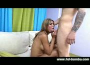 Busty Blonde Tranny Hardcore Sex in HIGH-DEF!