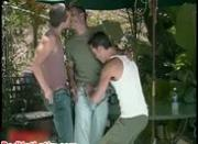 Nick Capra, Ty Hudson and Danny Lopez