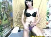 Cute Tranny is Surprisingly Horny
