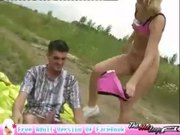 Teen Blonde Outdoor Sarah