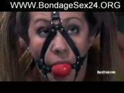 hot girl with big boobs Trina Michaels in hard bondage