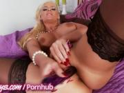 Two perfect Milfs play with themselves