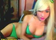 Ladyboy Blond Hottie