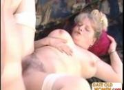 Mature Julia gets banged hard by younger boy