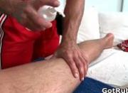Two amazing hunks in sexy gay massage