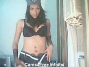 Amazing Brunette Shemale on Cam