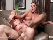 New Sensations - Babysitter August Ames Fucks Her Cheating Boss
