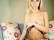 Cute Russian Blonde Gets Wet HD