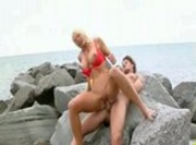 Bikini Babe on beach