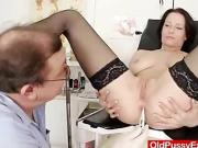 Huge natural boobies Mature Sabrina nasty gynecologist appointment