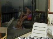 Silvia saint sucks dick very sloppy