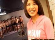 Azumi Harusaki Lovely Asian girl enjoys