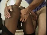 Black HookerMilf a hairy VaJUNGLE!