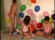 Party where teens gets naked