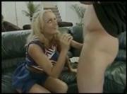 Monica The Aussie Cock Loving Cheerleader