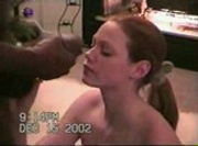 Amateur White Wife Sucks and Fucks a Big Black Cock