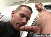 Jake Steel fucking and sucking on office