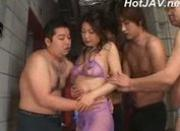 Japanese Woman Gang Bang