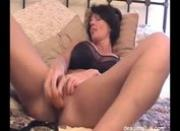 Deauxma sexy masturbating with dildo