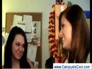 College girls stripping