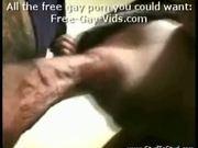 Brazilian Stud Fucking Blindfolded white boy