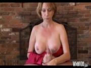 Hot Milf Hand Job And Blowjob