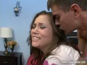 Kristina Rose Gets Her Chin Covered In Cum After Hardcore Fucking!