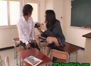 Schoolgirl ryo akanishi sucking