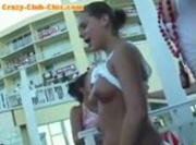 Drunk Chicks Flash In Public