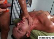 Massagecocks Blowing Oily Cock