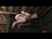 BDSM Asian Slave Nyssa Nevers Suspended and Whipped in Bondage