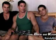 Gay clips of Braden, Chris and Kevin