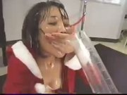 Cum Eggnog for Asian Mrs Claus