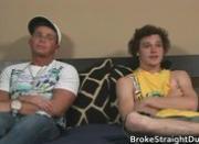 Gay clip of Straight Bobby & Brody