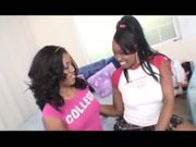 Ebony Lesbains Angel Eyes & Sydnee Capri
