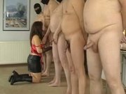 Guys standing in line to fuck my wife