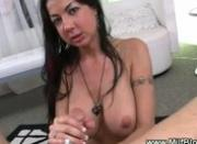 Mature milf slow and deep blowjob