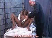 Ebony Crystal tied up and punished