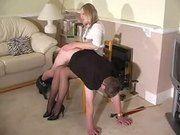 Femdom Caning, Spanking