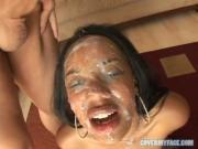 Faces Showered of Cum Part2