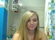 Blonde ex-girlfriend naked