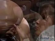 Ashley and Rebecca are real cock sluts