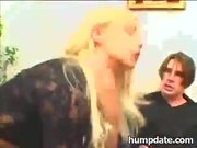 Sexy blonde Gina Blue gets double penetrated