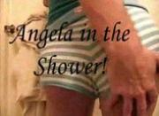 Angela Roxxi In The Shower