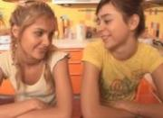 Teen lesbos showing tits